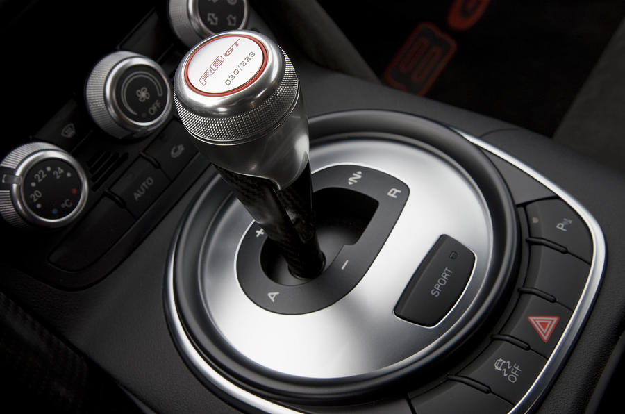 Audi R8 GT automated manual gearbox