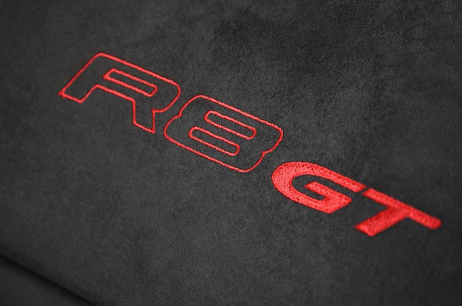 Audi R8 GT interior decals