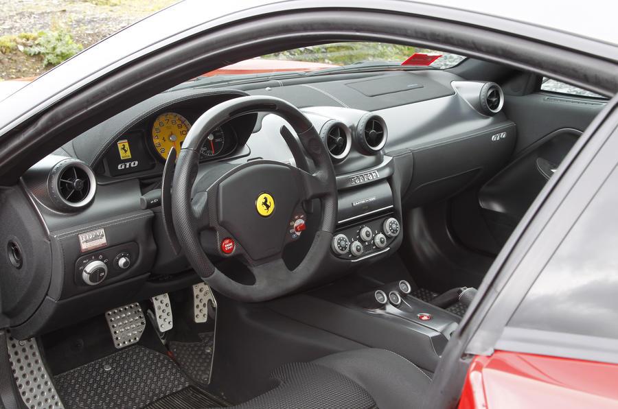 Ferrari 599 GTO interior