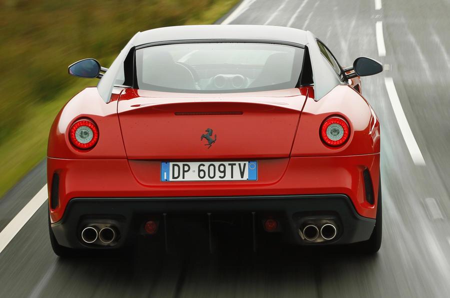 Ferrari 599 GTO rear