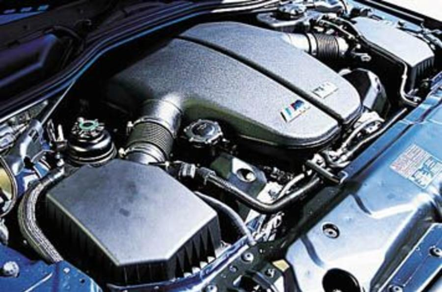 BMW M5 V10 engine