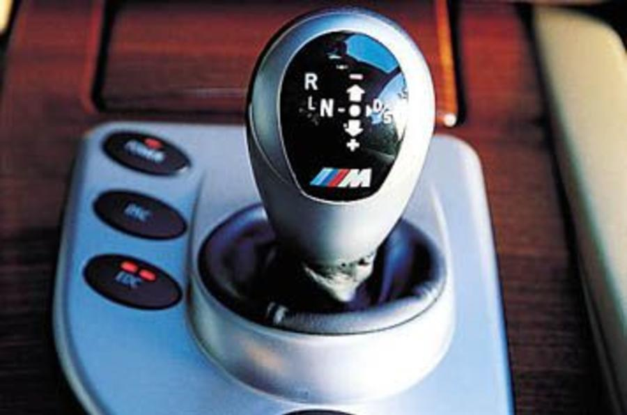 BMW M5 automatic gearbox