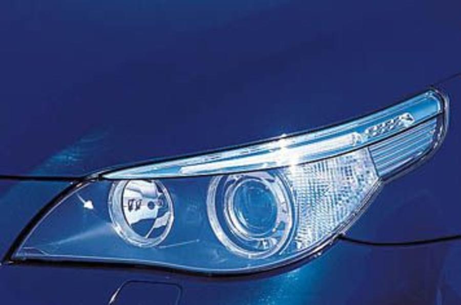 BMW M5 xenon lights