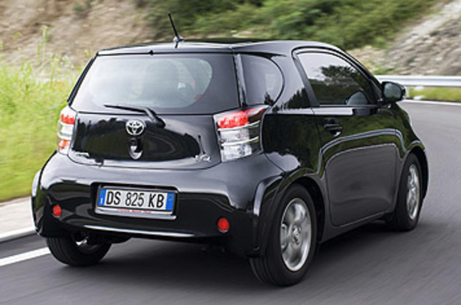 toyota iq 3 review autocar. Black Bedroom Furniture Sets. Home Design Ideas