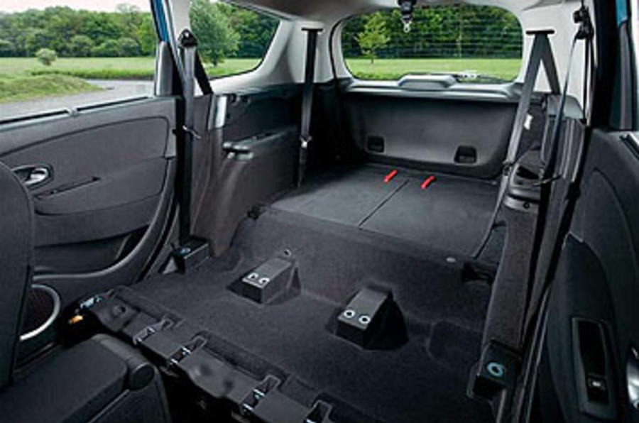 Renault Grand Scenic boot space
