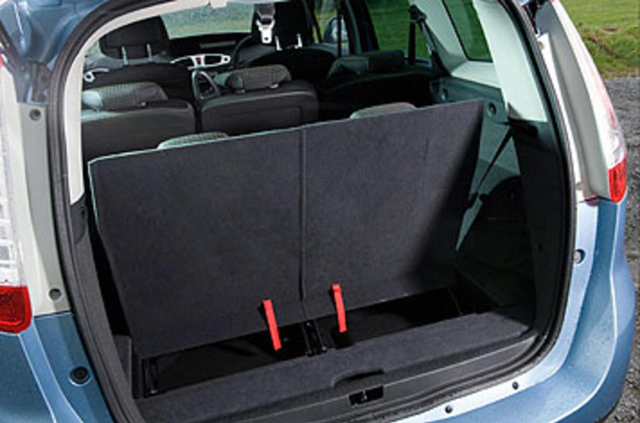 Renault Grand Scenic third row seats