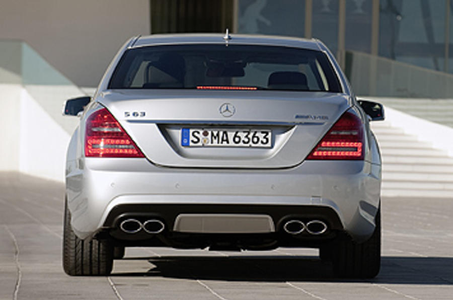 Mercedes-AMG S 63 rear end
