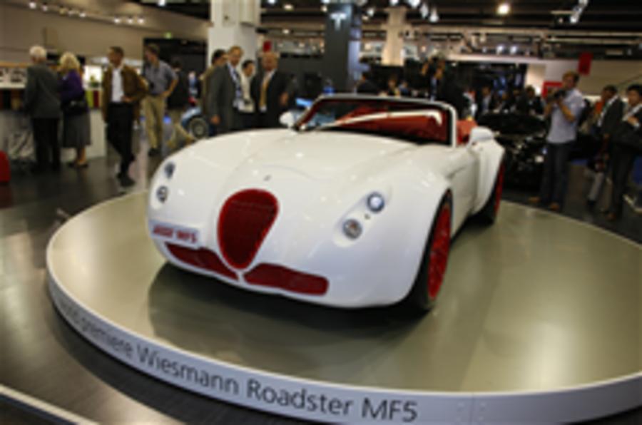 Frankfurt motor show: Wiesmann Roadster