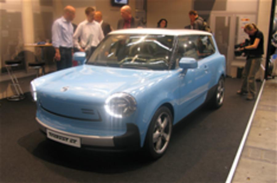 New electric Trabant