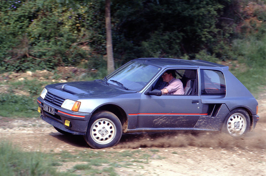History Of The Peugeot 205 Gti Picture Special Autocar