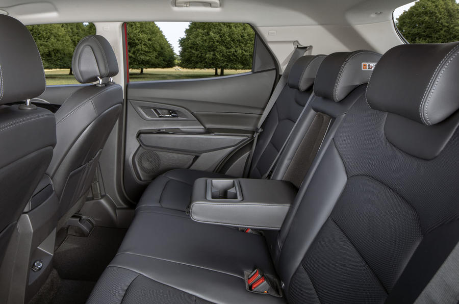 Ssangyong Korando 2019 road test review - rear seats
