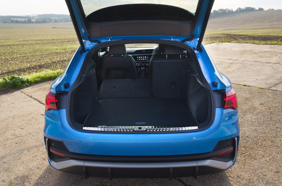 Audi Q3 Sportback 2019 road test review - boot
