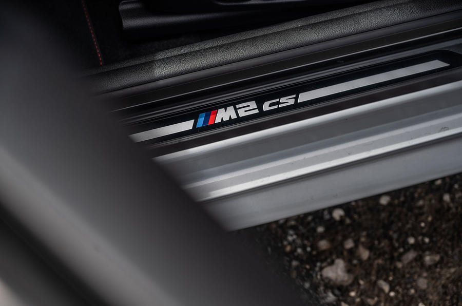 BMW M2 CS 2020 road test review - kick plates