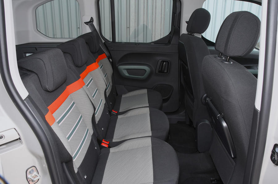 Citroen Berlingo 2018 road test review - rear seats