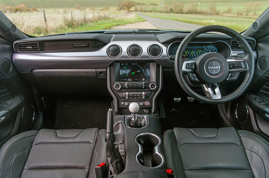 Ford Mustang Bullitt 2018 road test review - dashboard