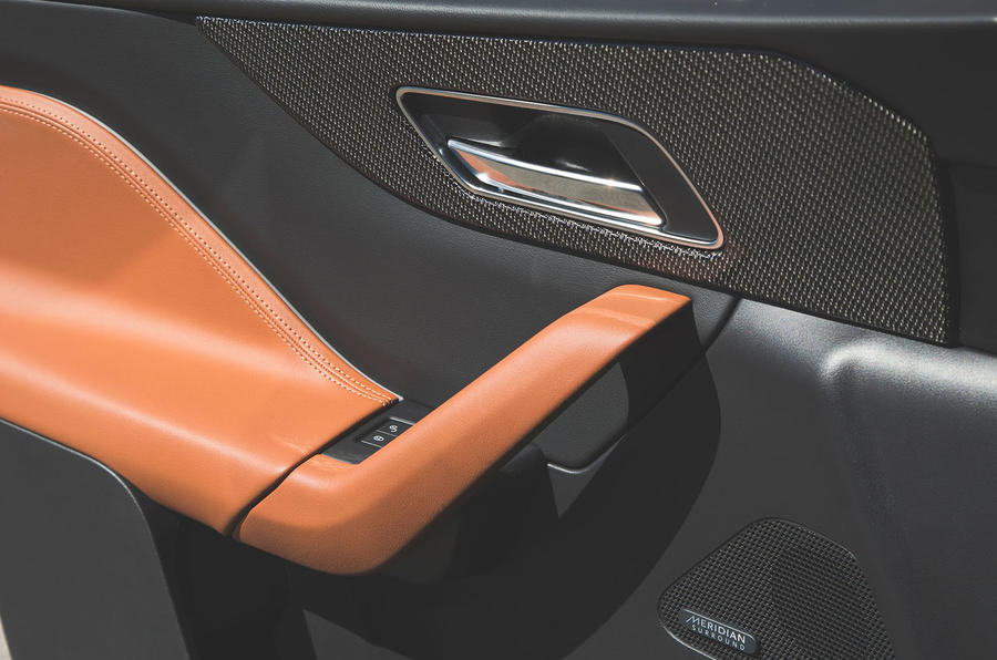 Jaguar F-Pace SVR 2019 first drive review - door cards