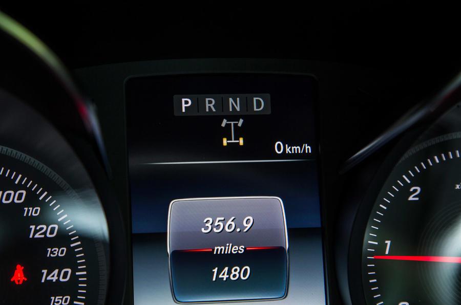 Mercedes-Benz X-Class road test review digital dials
