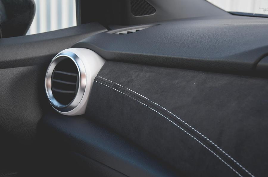 Nissan Micra N-Sport 2019 road test review - dashboard trim