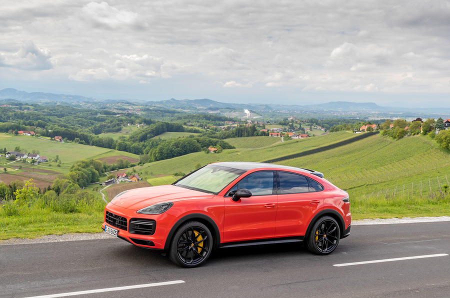 Porsche Cayenne Coupé 2019 review - static front