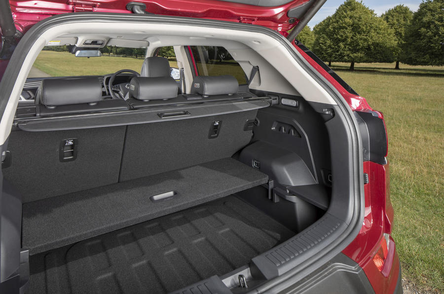 Ssangyong Korando 2019 road test review - boot