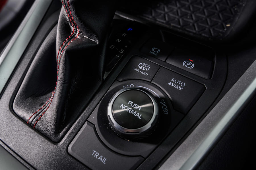 17 Suzuki Across 2021 : essai routier, test de la molette du mode de conduite