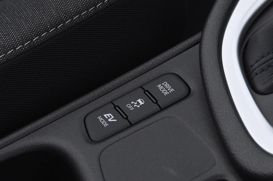 Examen de l'essai routier de la Toyota Yaris 2020 - modes de conduite