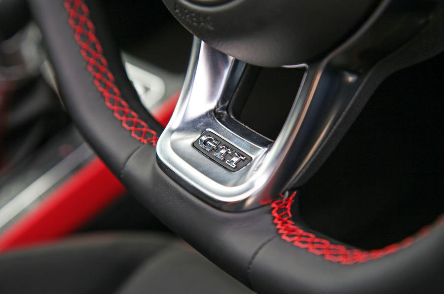 Volkswagen Polo GTI 2018 road test review steering wheel details