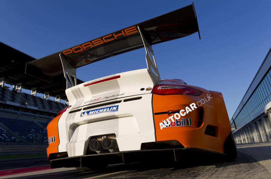 Porsche 911 GT3 R Hybrid rear