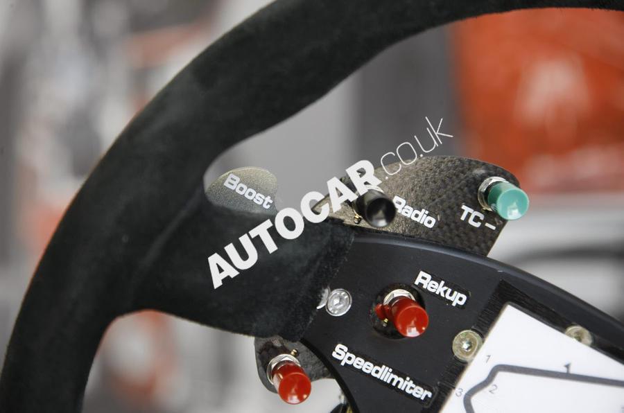 Porsche 911 GT3 R Hybrid steering rack