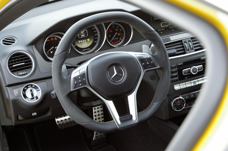 Mercedes-AMG C 63 Black Series dashboard