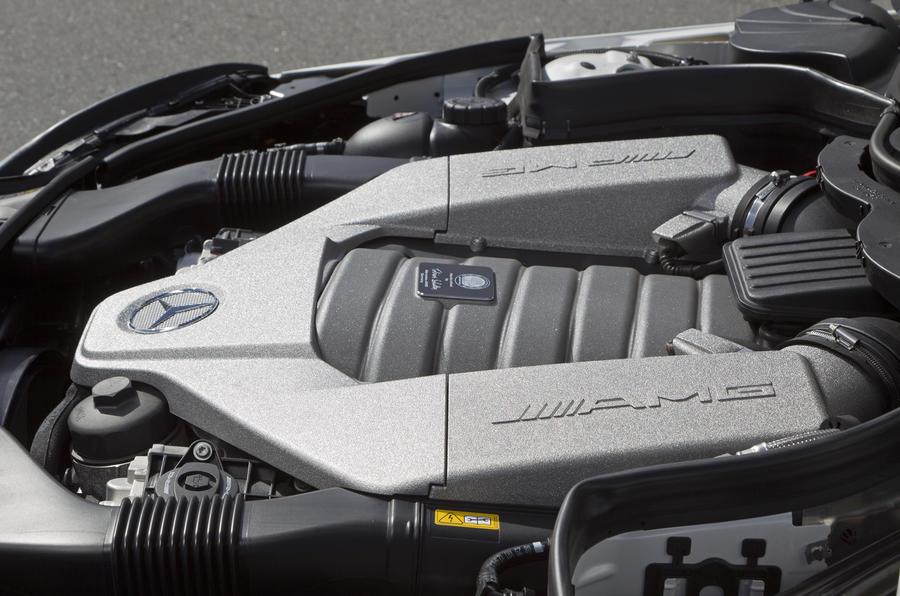 6.3-litre Mercedes-AMG C 63 engine
