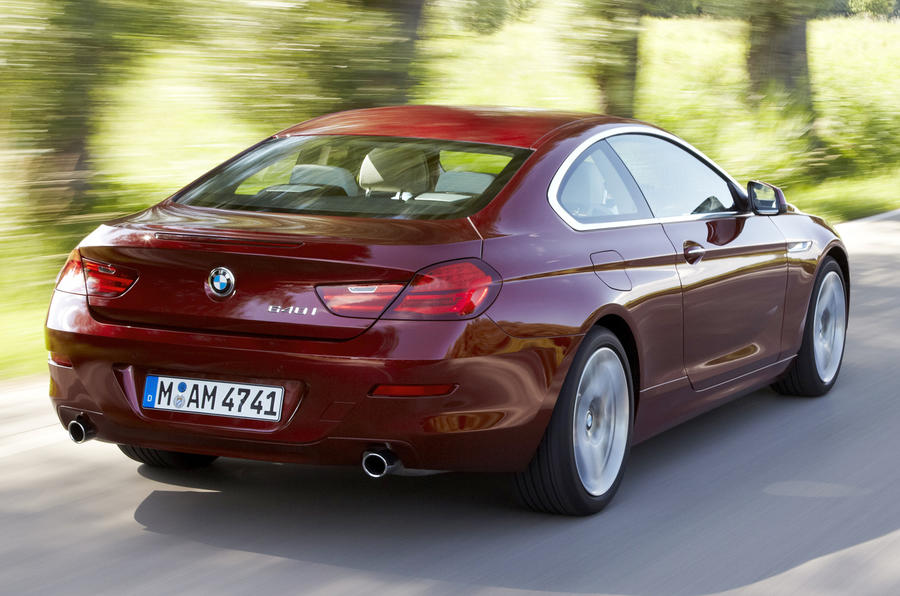 BMW 640i Coupé rear