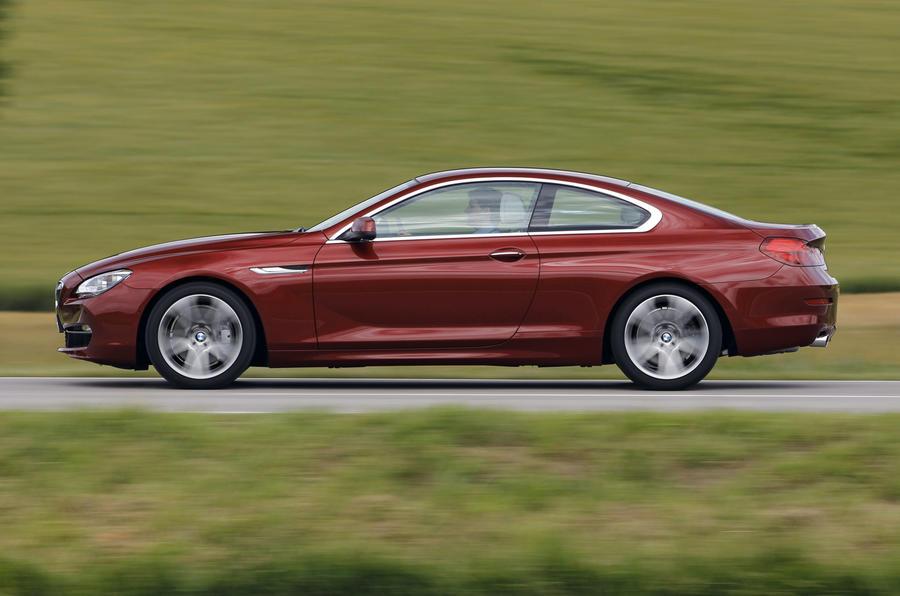BMW 640i Coupé side profile