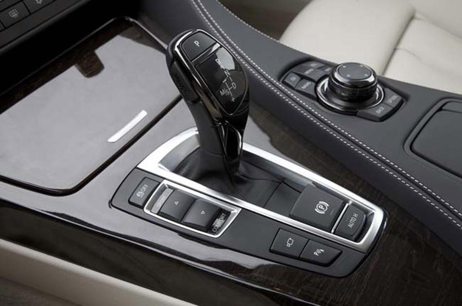 BMW 640i Coupé automatic gearbox