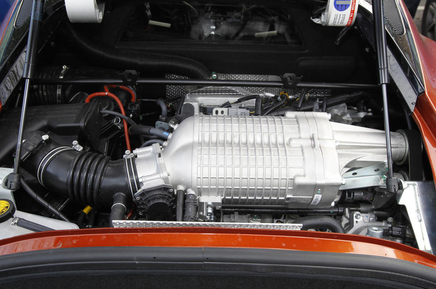3.5-litre V6 Lotus Evora S engine