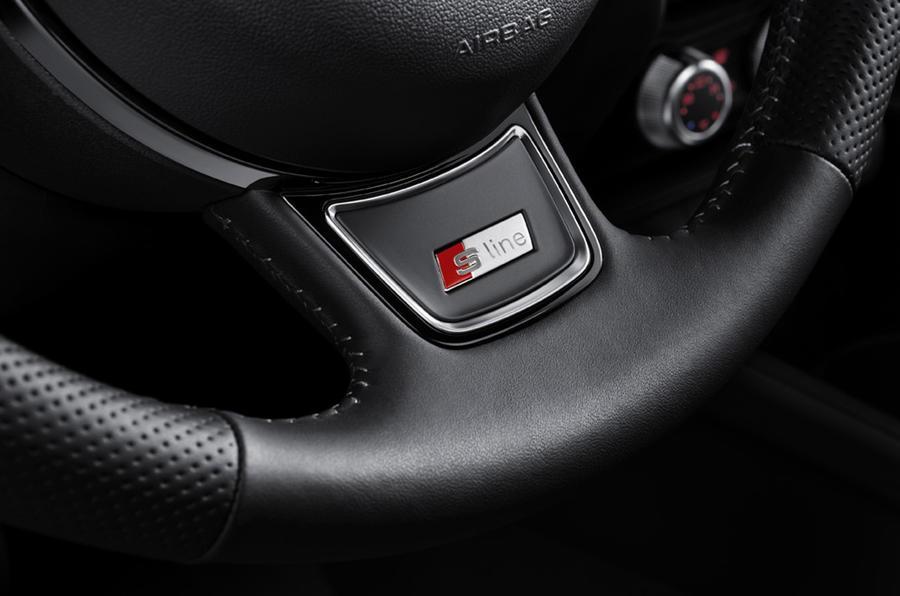 Audi A1 Sportback S-line badges