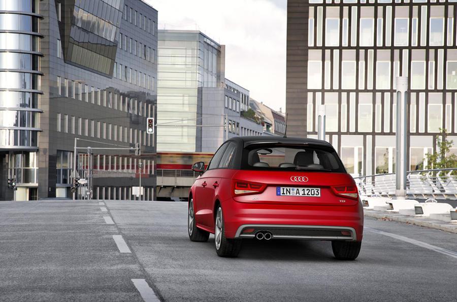 Audi A1 Sportback rear