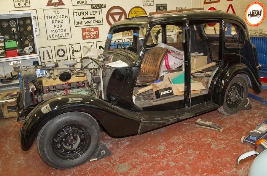 Vintage Police Cars Wolseley 18 85 Autocar