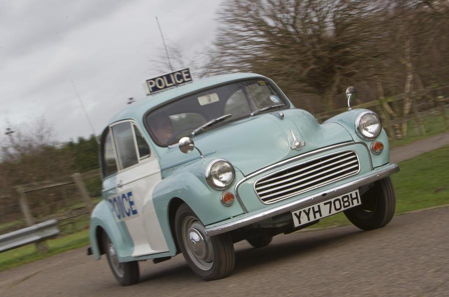 Vintage Police Cars Morris Minor Autocar