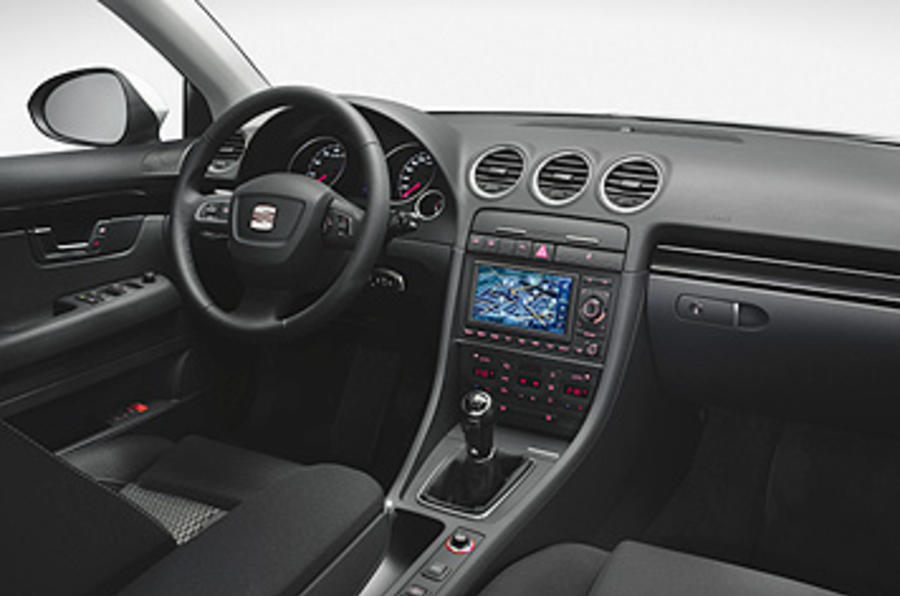 seat exeo 2 0 tdi se first drive. Black Bedroom Furniture Sets. Home Design Ideas