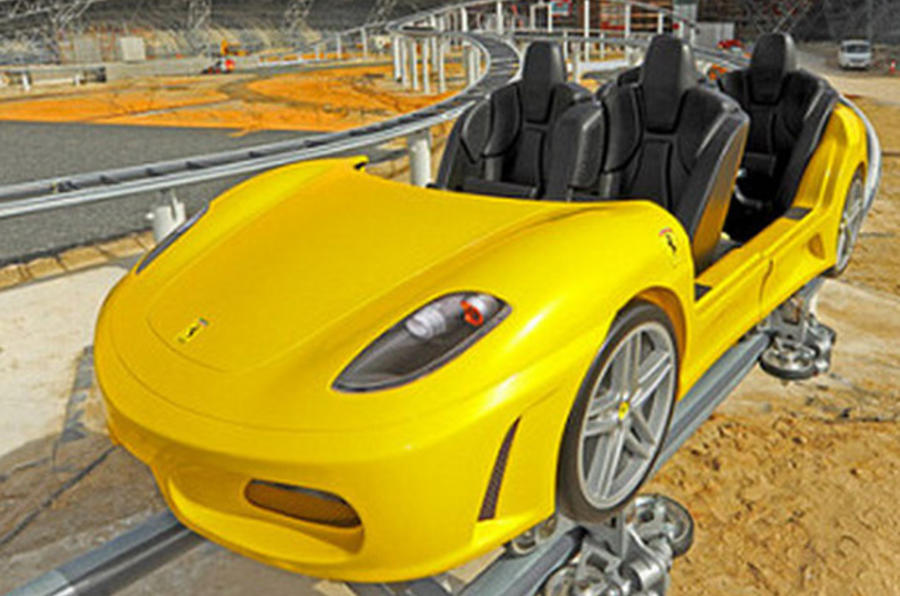 The Ferrari F430 rollercoaster