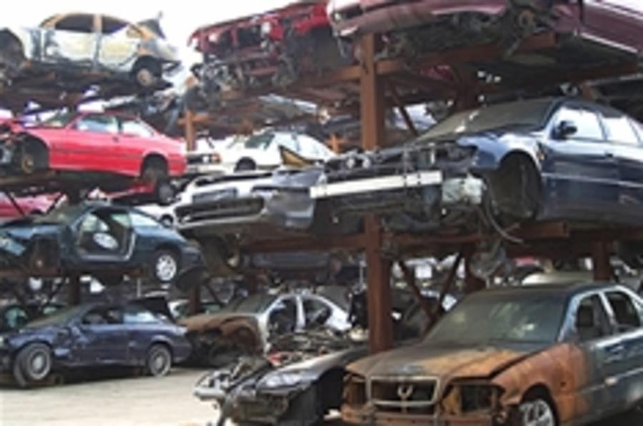 Scrappage to begin next Monday