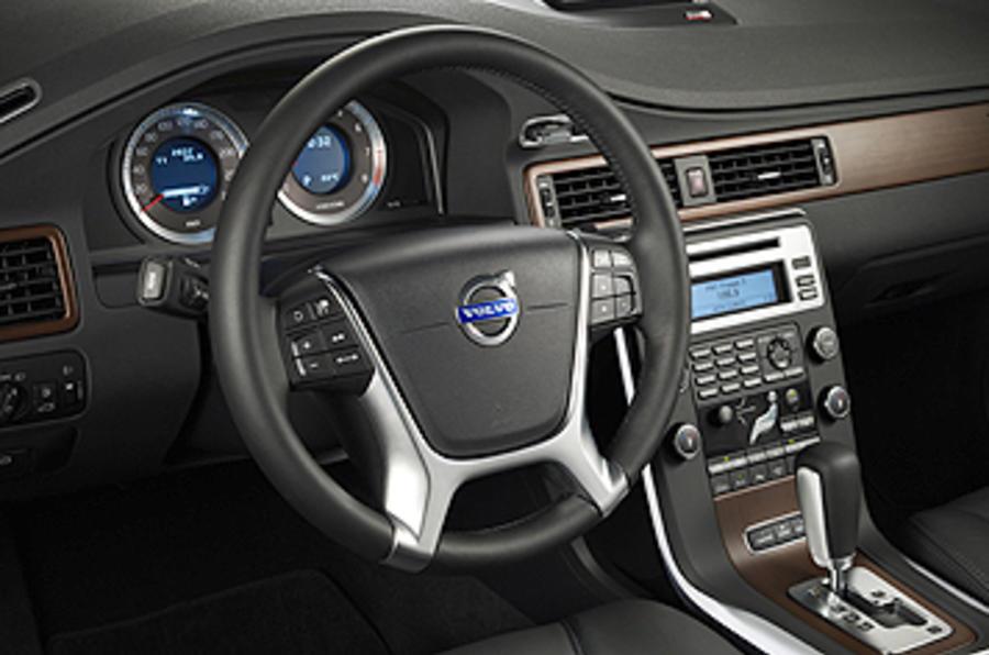 Volvo S80 steering wheel