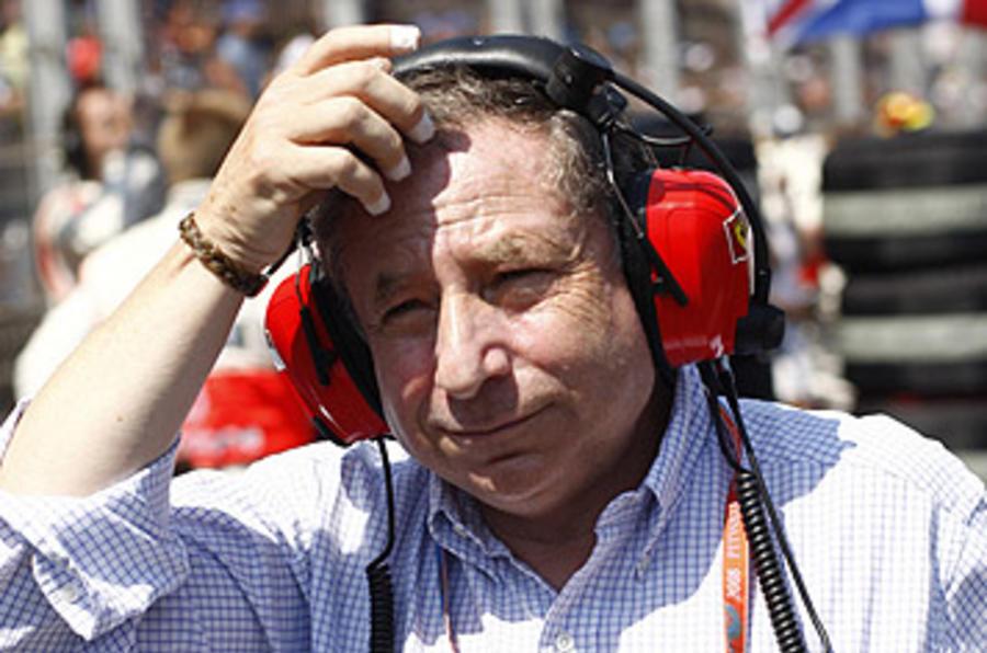 Todt: 'F1 must change'