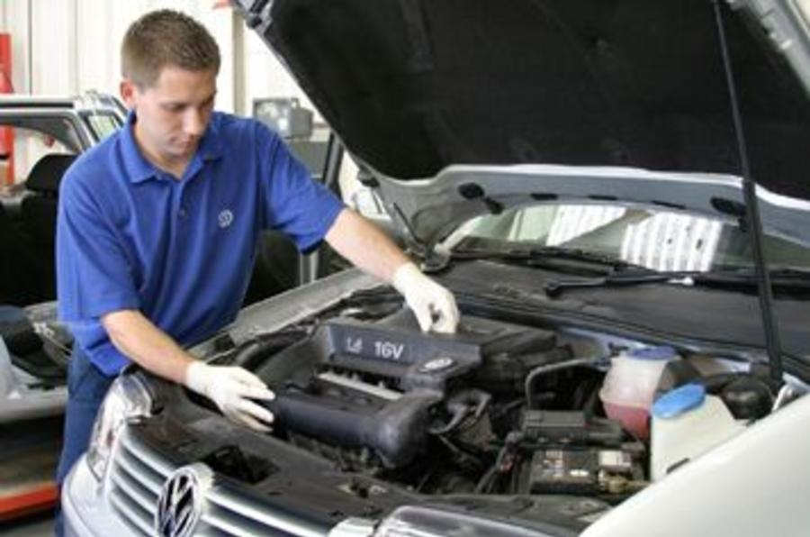 VW's fixed price servicing