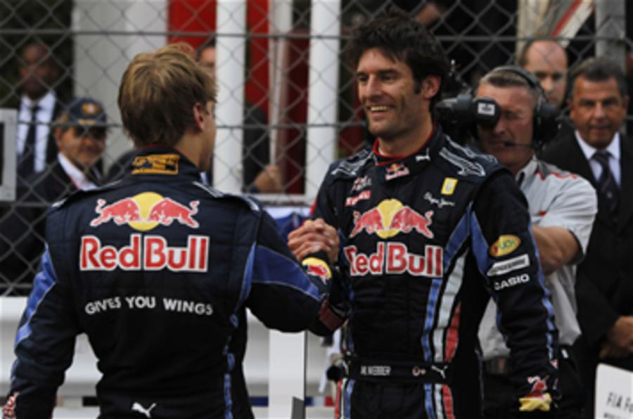 Vettel, Webber make peace