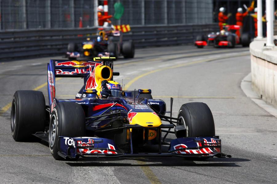 Webber wins Monaco GP - pics