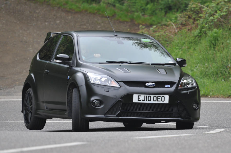Ford Focus RS500 cornering