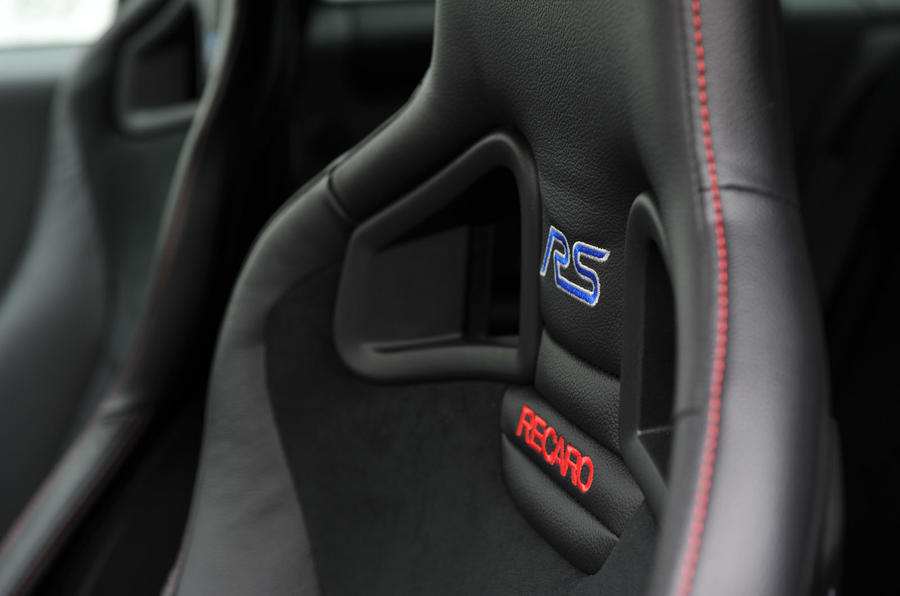 Ford Focus RS500 Recaro seats