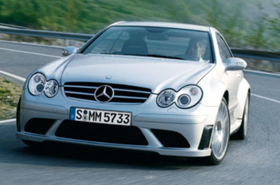 Mercedes-Benz CLK63 AMG Black Series